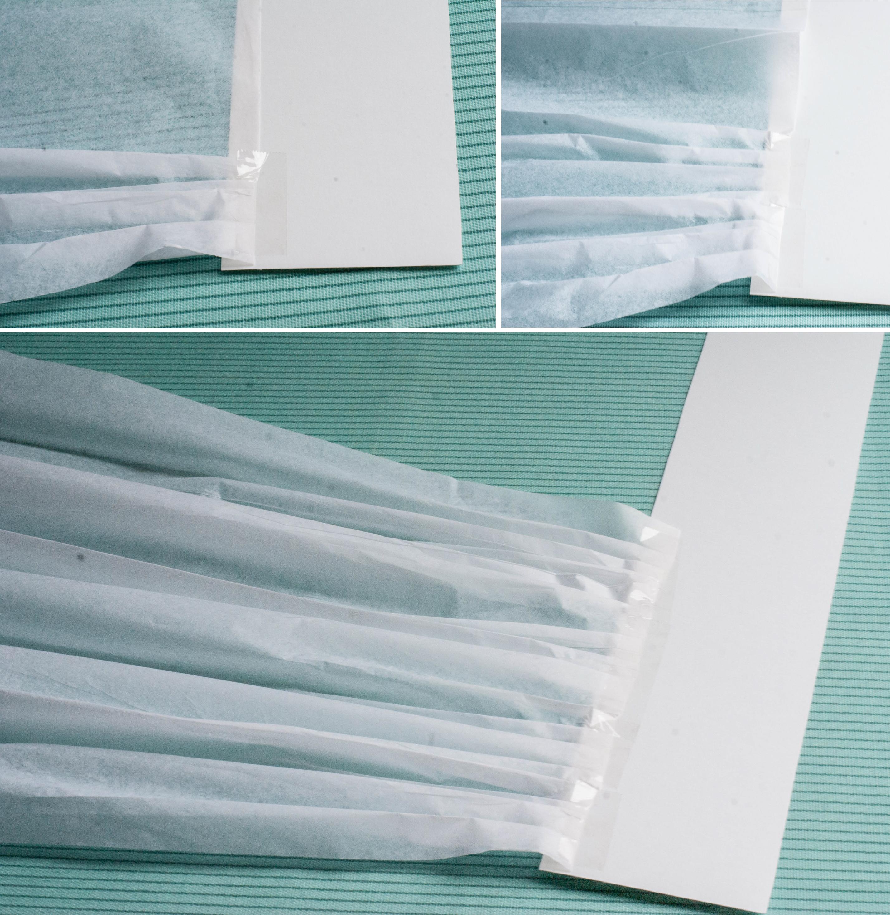 Using Tissue Paper For Baking Cake